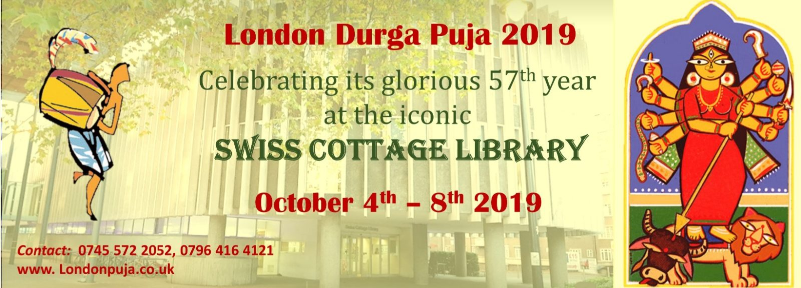 LONDON    DURGA    PUJA  –  2019